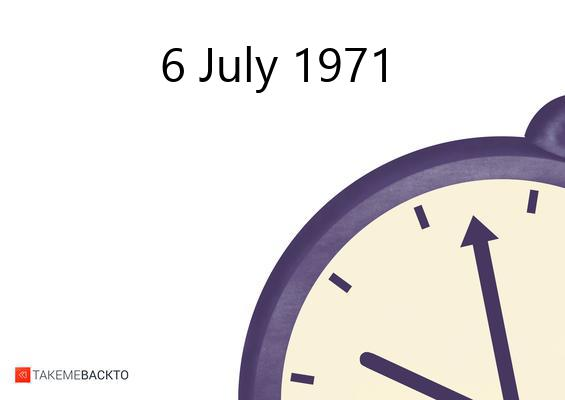 July 06, 1971 Tuesday