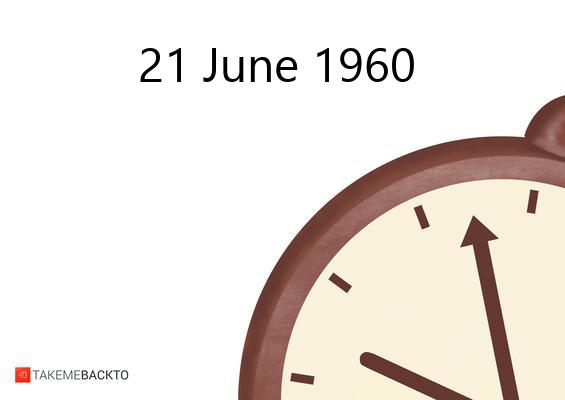 Tuesday June 21, 1960