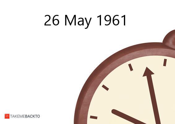 Friday May 26, 1961